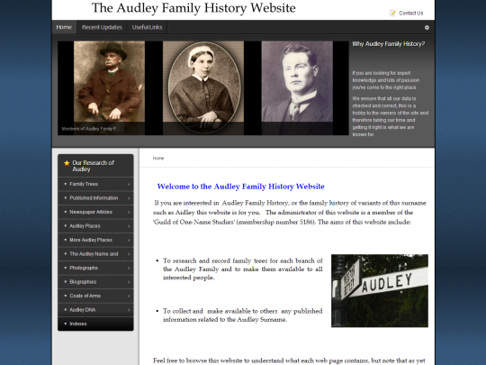 Home-Audley-Family-History